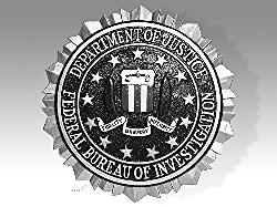 Federal Bureau of Investigation crest.