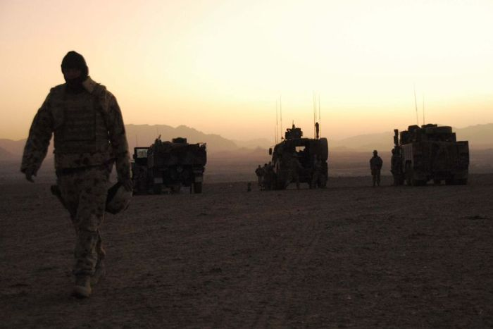 Australian troops in Afghanistan. Picture: Australian Department of Defence