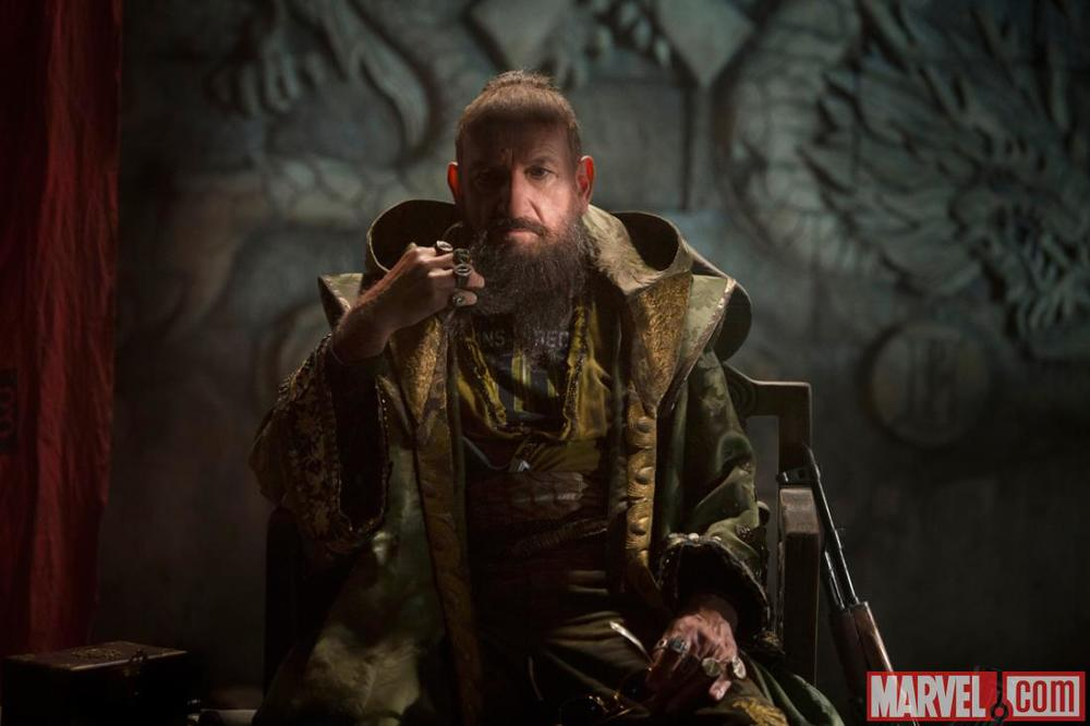 The Mandarin in Iron Man 3