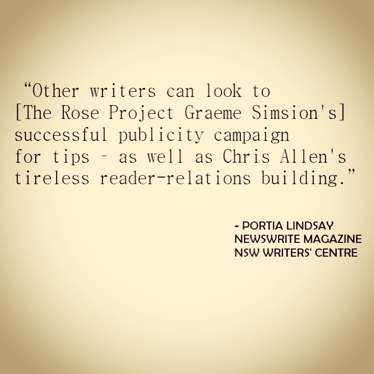 Authors and publicity In Newswrite Magazine