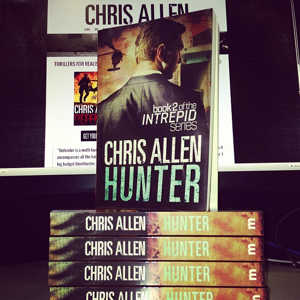 Hunter espionage thriller