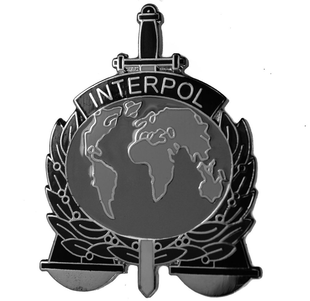 Interpol Badge