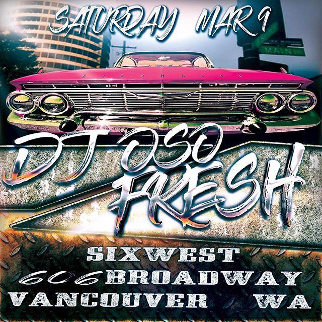 Getting #fresh @sixwestlounge  #tonight #vancouverwashington