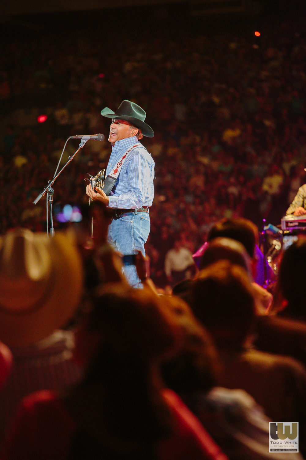 George Strait, San Antonio, Live Music, Todd White Photography