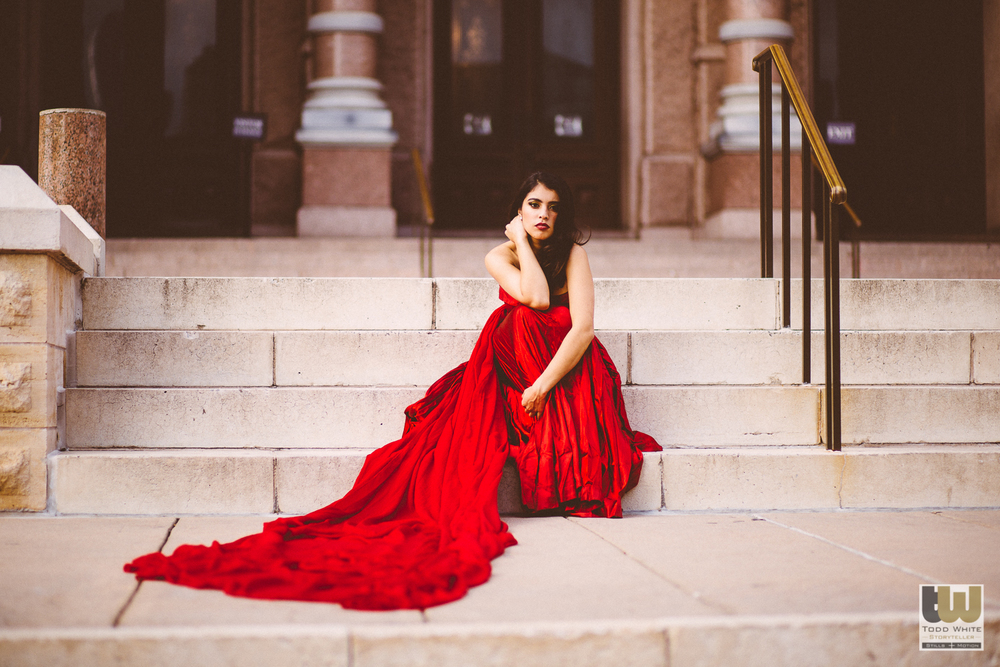 Red Dress Commercial