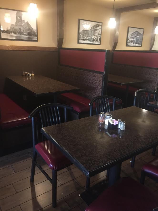 Panino's Seating Area