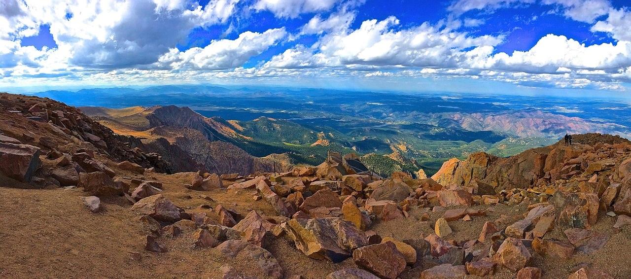 pikes peak highway drive to pikes peak summit colorado springs
