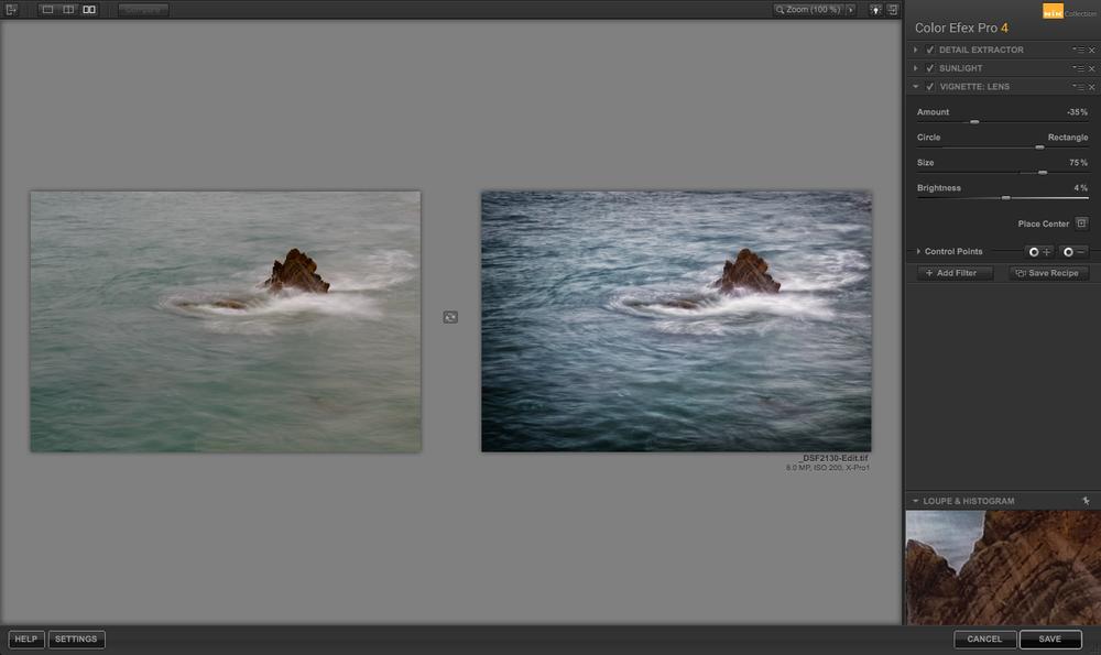 Editing in Color Efex Pro 4