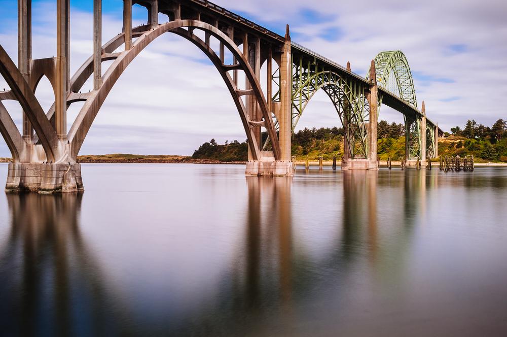 Yaquina Bay Bridge - 15 seconds at f/16