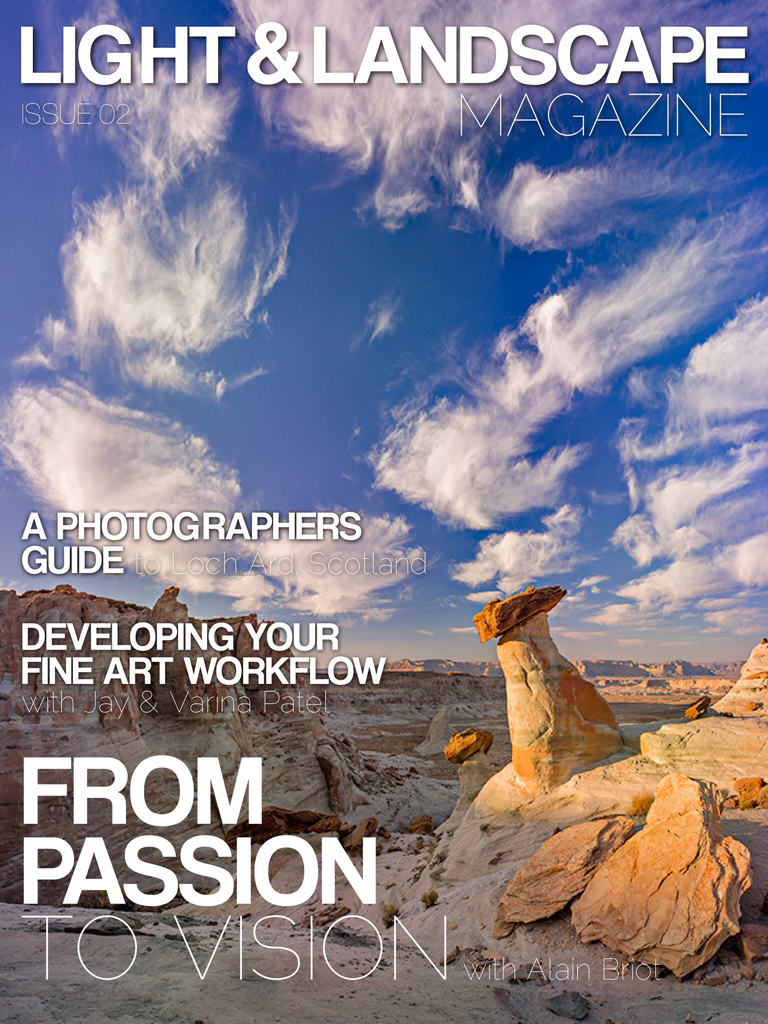 Light Landscape Magazine Stephen Ip Travel Photography