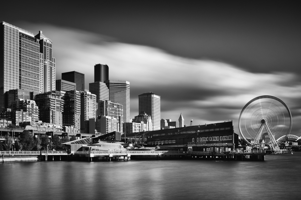 Seattle Waterfront - 30 seconds at f/16