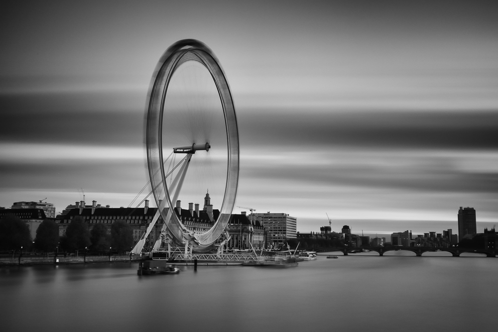 London Eye - 300 seconds at f/11