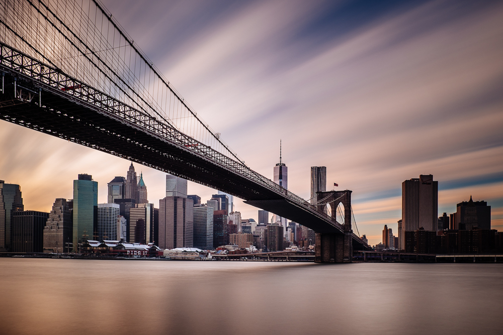 Brooklyn Bridge - 125 seconds at f/8