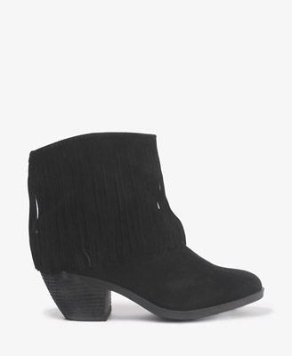 Fringed Booties $34.80
