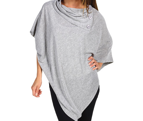 Christin Michaels Sadia Poncho Sweater $39.99