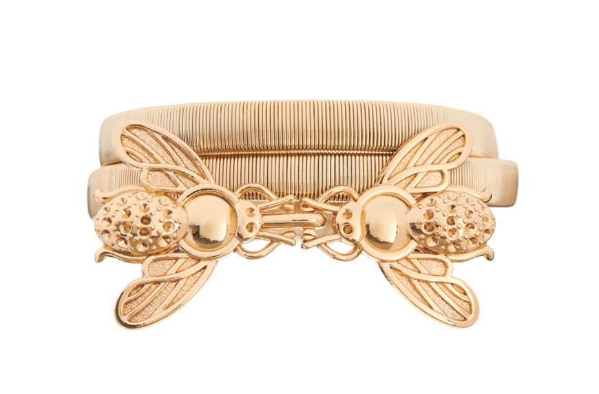 ASOS Bug Buckle Metal Waist Belt $26.29