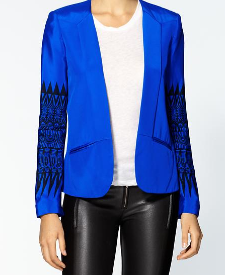 Tribe Seam Silk Jacket $230