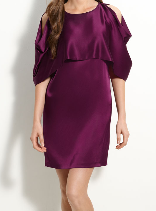 DKNY Cold Shoulder Dress $149