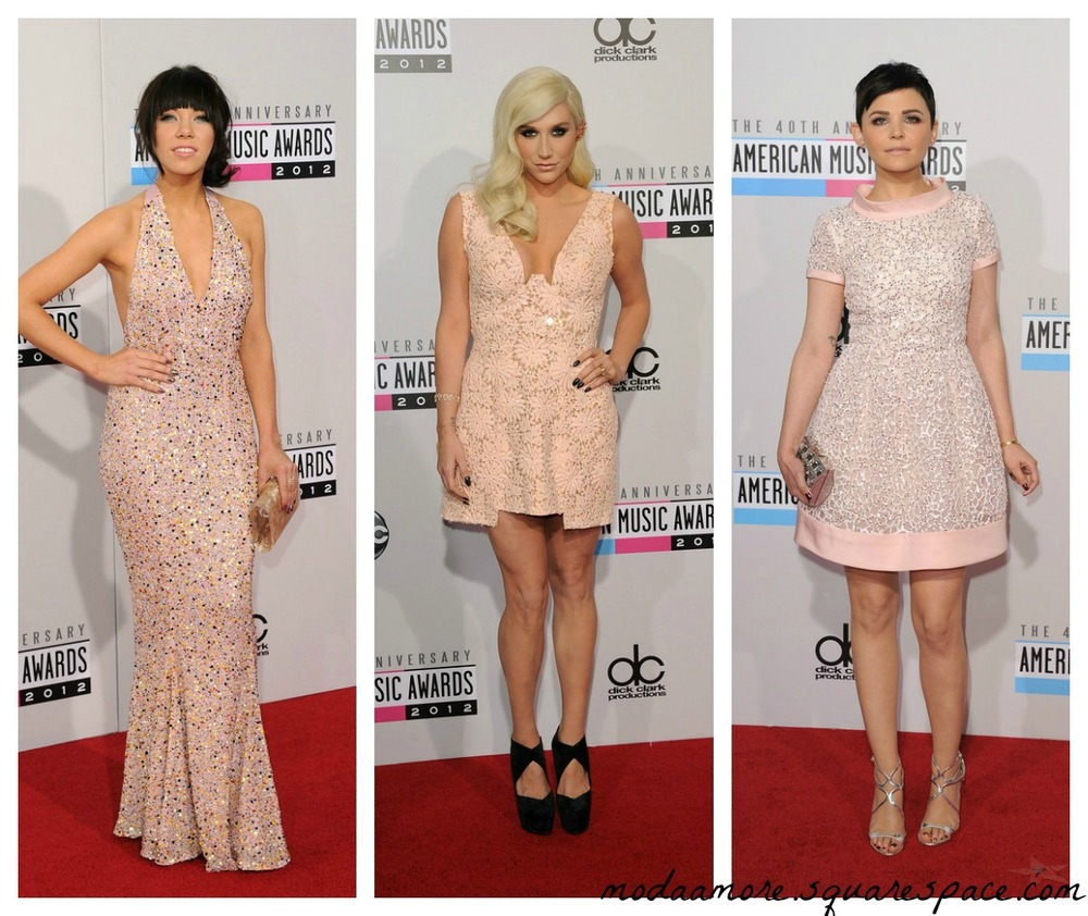 Carly Rae Jepsen in Gomez-Gracia.Ke$ha.Ginnifer Goodwin in Oscar de la Renta