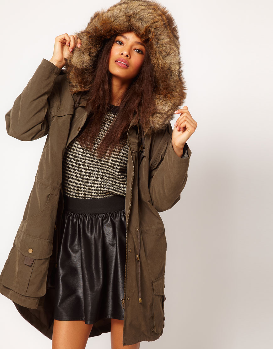 Over Sized Hooded Parka Price: $140.72 ASOS.COM
