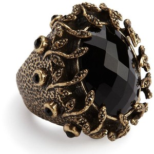 Chucky Black Stone Ring $39 LuckyBrand