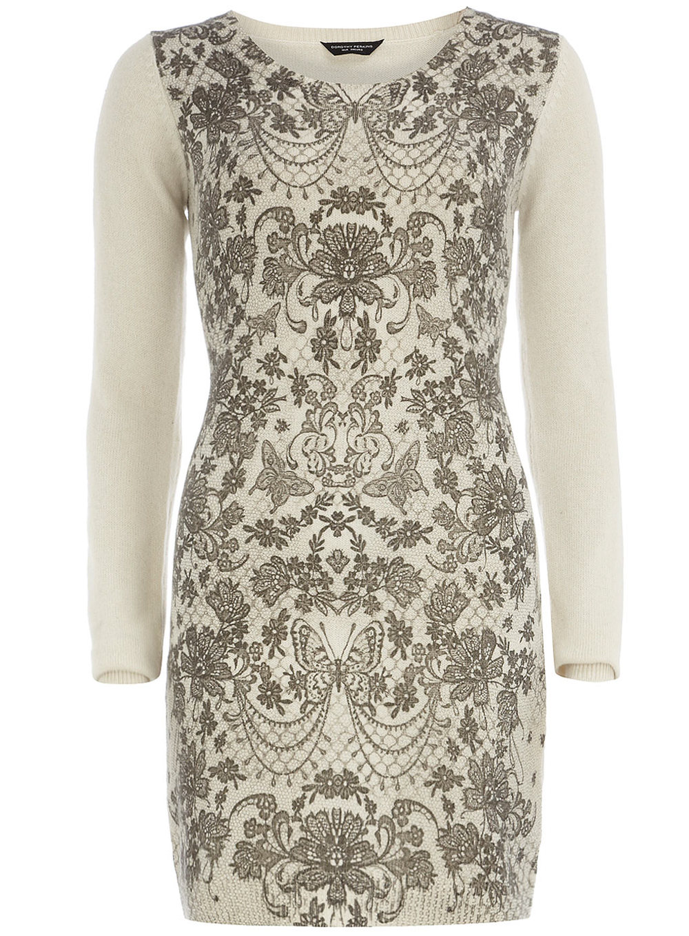 Ivory lace print dress Dorothyperkins.com Price:59