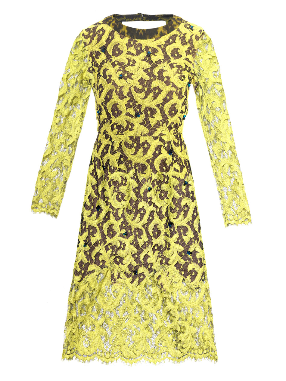 Drew lace dress Price: $1,470 MATCHESFASHION.COM