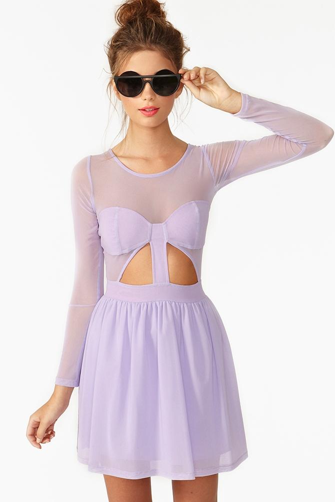 Censored Skater Dress. Price:$128 NASTYGAL.COM