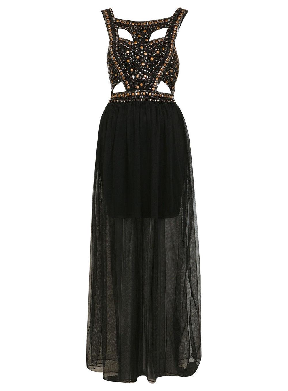 Stud Sequin Maxi Dress. Price: $130 MISSSELFRIDGE.COM