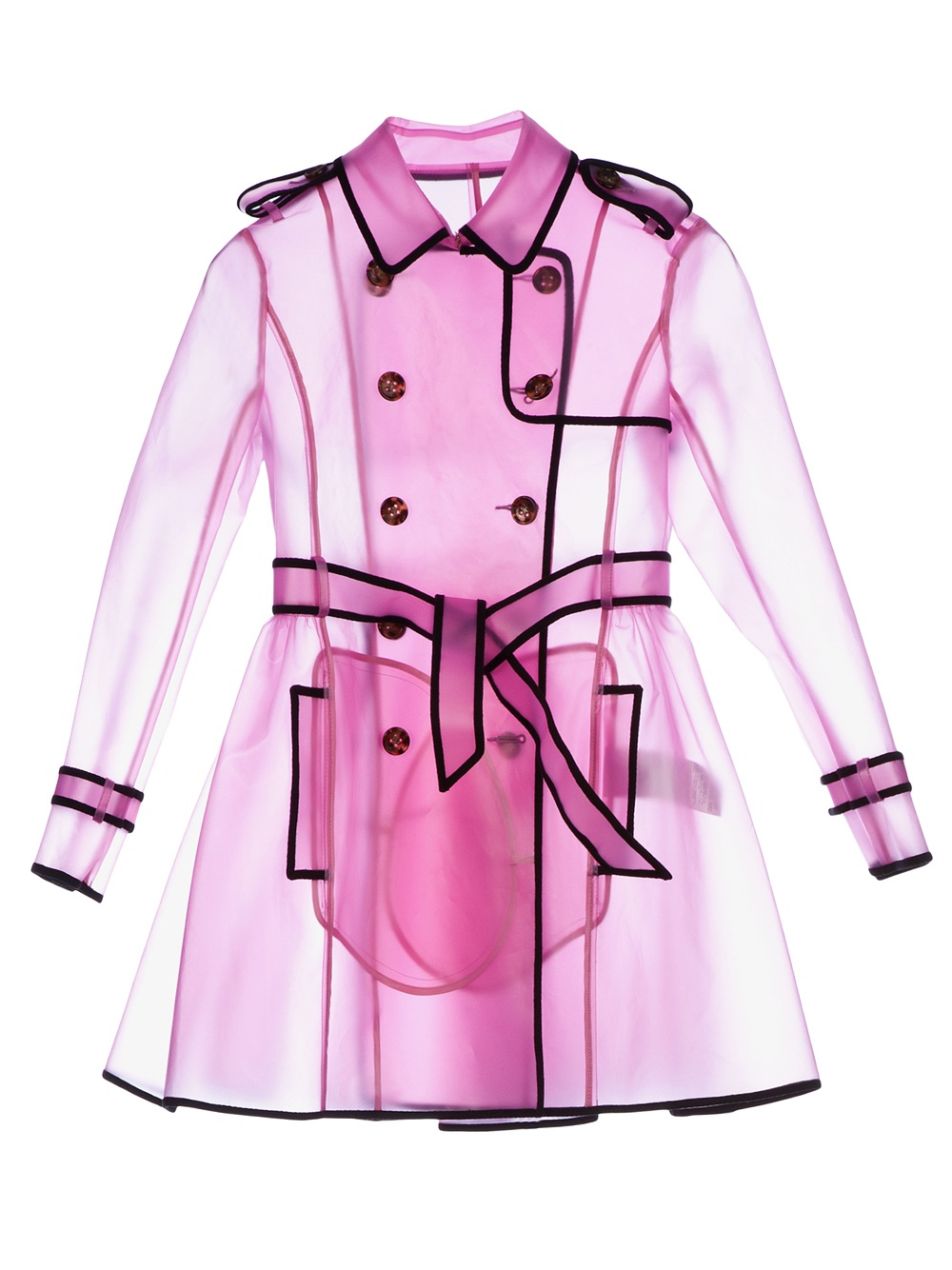 RED VALENTINO SHEER TRENCH COAT. Price:$755.22 FARFETCH.COM