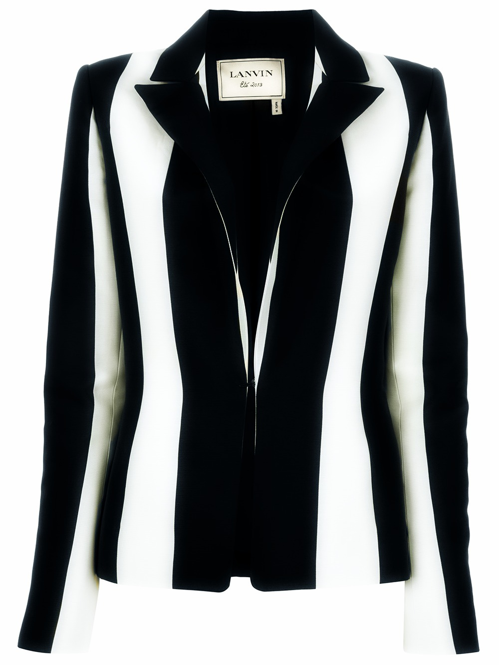 Lanvin Striped Blazer Price: $2,83 Farfetch.com
