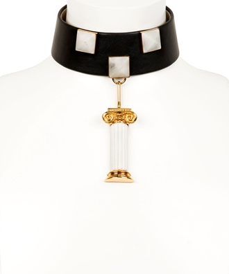 Delfina Delettrez Column Pendant Collar  Price:$2,686 luisaviaroma.com