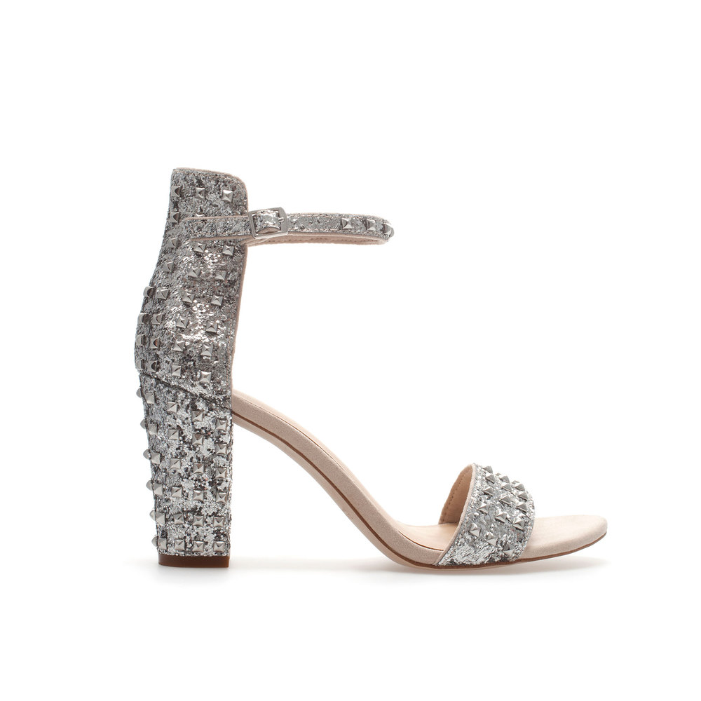 HIGH HEEL SANDAL WITH ANKLE STRAP. Price: $79.90 ZARA