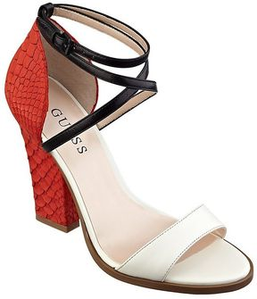 GUESS SILENO COLOR BLOCK SANDAL Price: $110