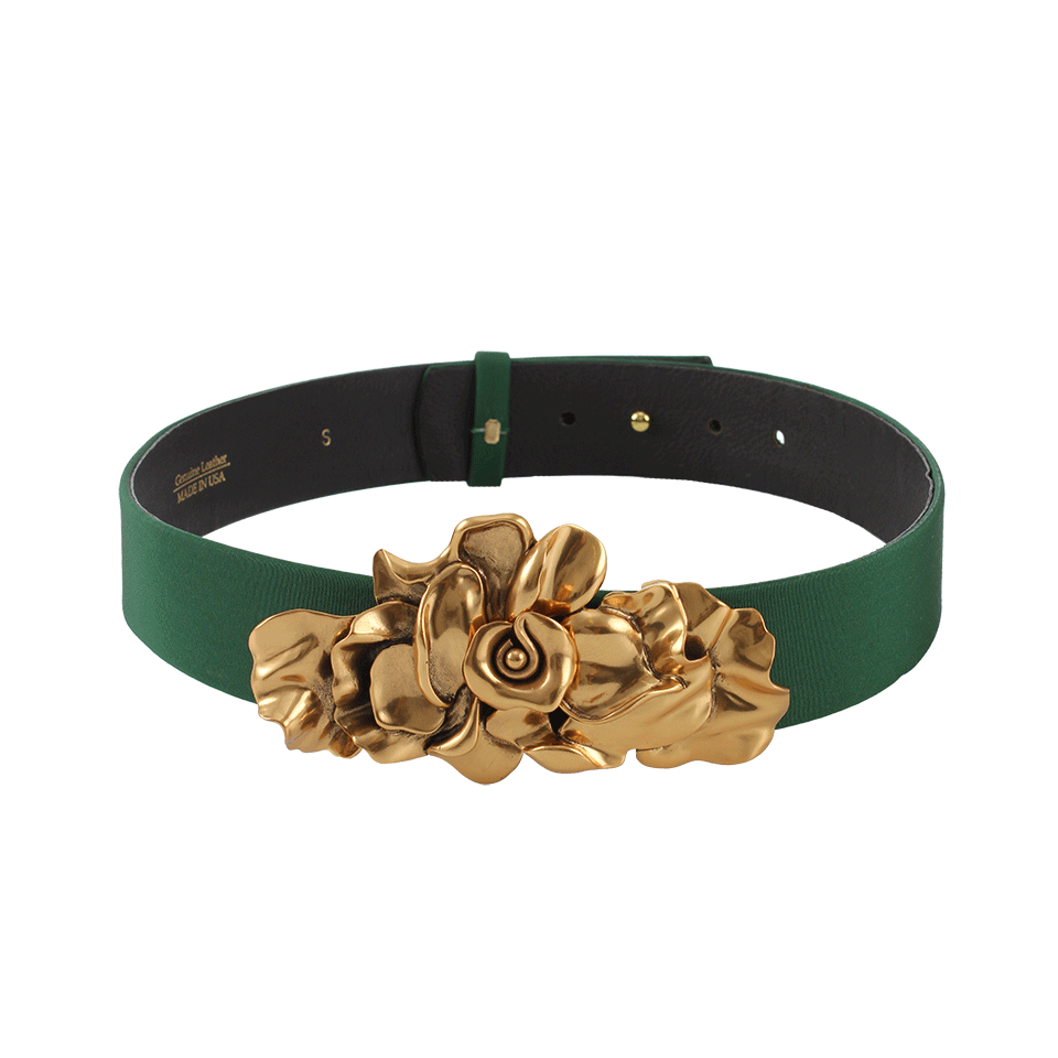FAILLE FLOWER BCKL BELT OSCAR DE LA RENTA. Price: $550 marissacollections.com