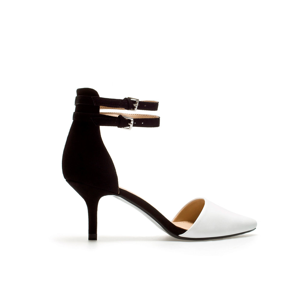 Zara Vamp shoe with strap