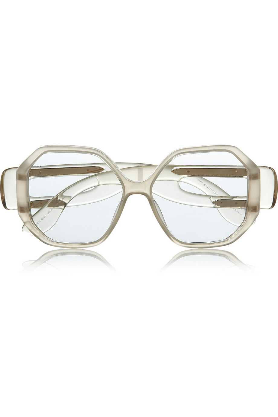 Balenciaga square-frame acetate sunglasses   Original price $451 Now $157.85 THEOUTNET.COM