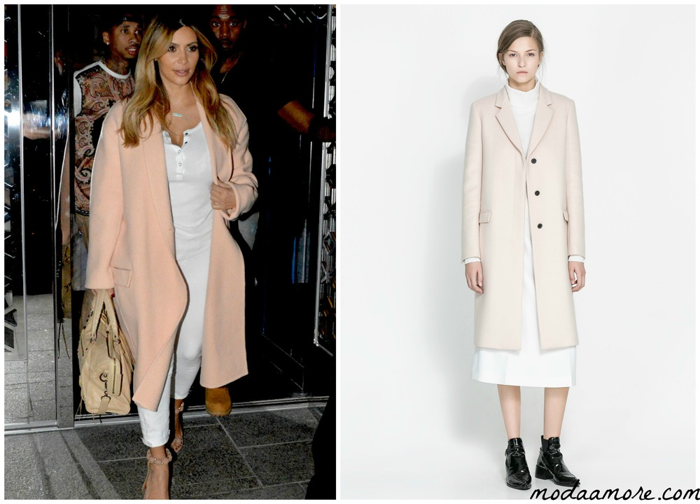 Kim KardashianI MASCULINE STUDIO OVERCOAT $299.00