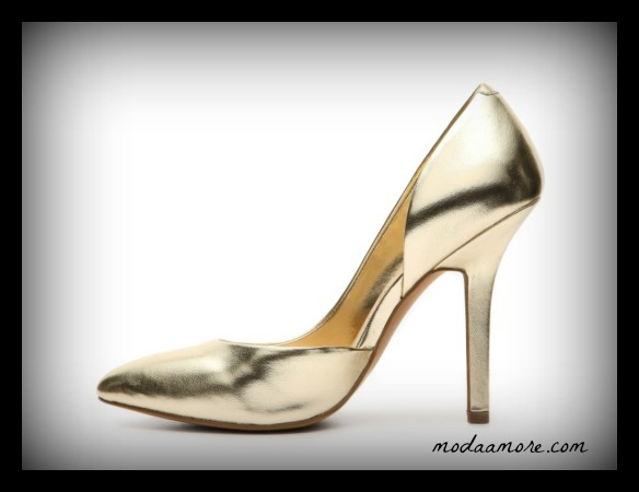 BCBG PARIS JAZE METALLIC PUMP. PRICE:$59.95  DSW.COM