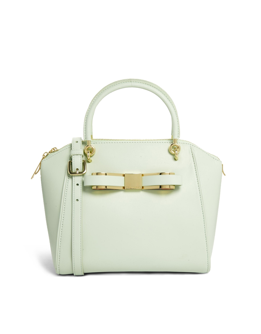 ASOS.COM TED BAKER SLIM BOW TOTE BAG $336.86