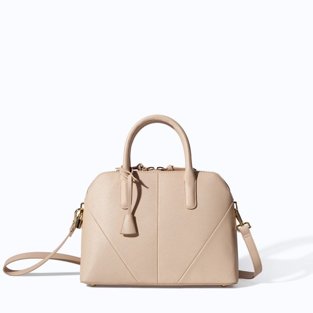 ZARA.COM MINI CITY BAG $79.90
