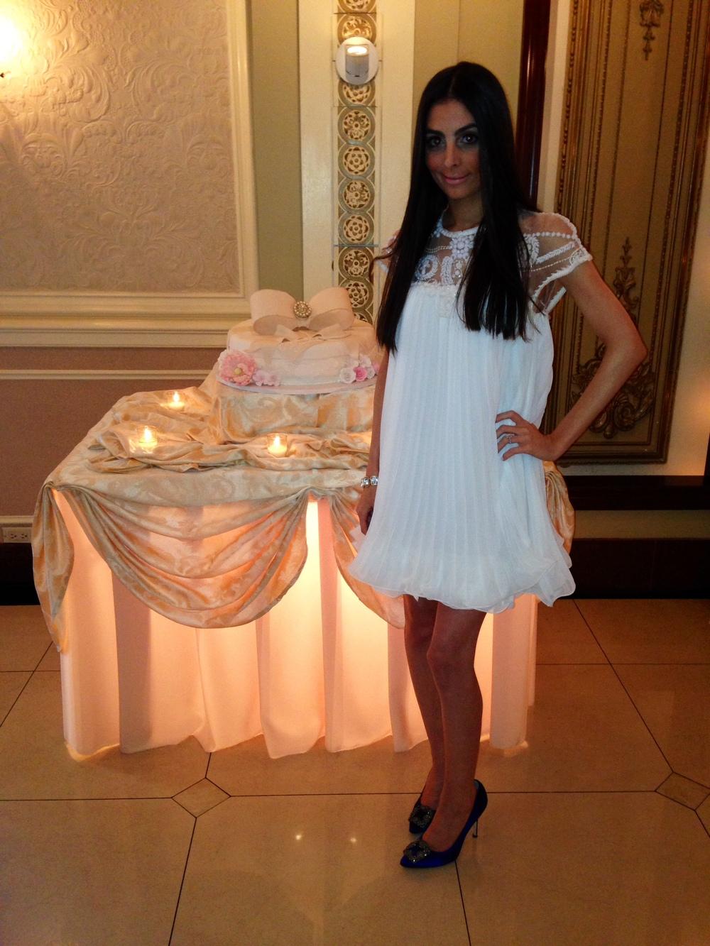 Dress- Sheinside.com Shoes Manolo Blahnik Saks.com