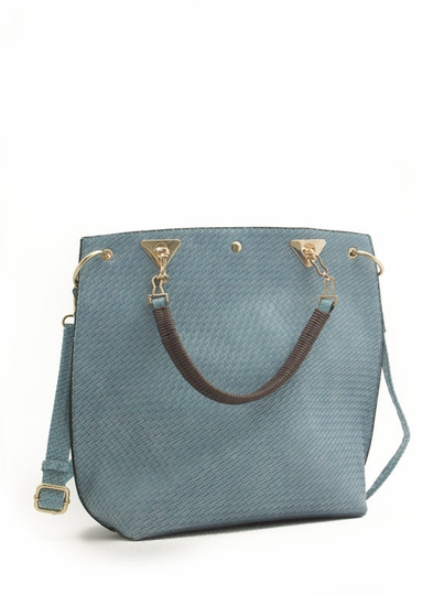 Woven Textured Tote Bag $42.30