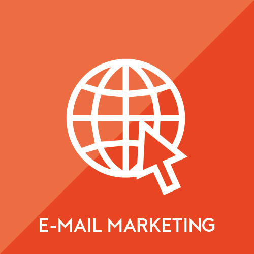 Supplement your business's efforts and popular content through calculated e-mail campaigns.