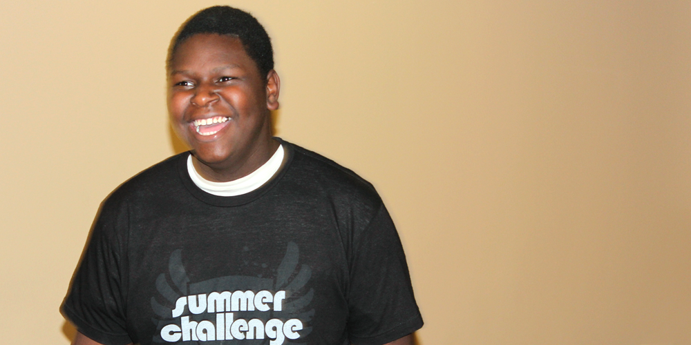 """Summer Challenge taught me how to be a man - how to treat women with respect and how to lead by serving."""