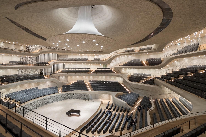 Elbphilharmonie in Hamburg, Germany. Photo by Iwan Baan