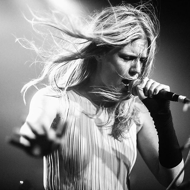 Last night the amazing @myrkurmyrkur at St Vitus in Brooklyn.  #myrkur #mareridt