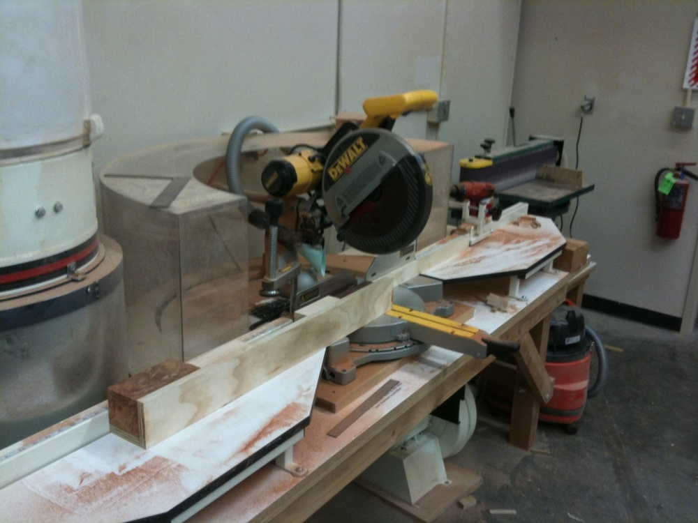 Radial Saw Setup