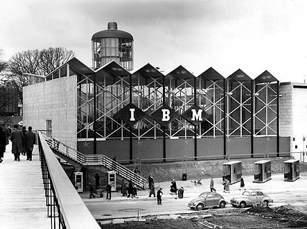 IBM Pavilion - Brussels World Fair (1958)