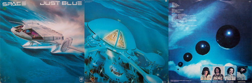 Space Just Blue LP 1978